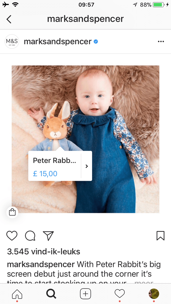 E-commerce Peter Rabbit