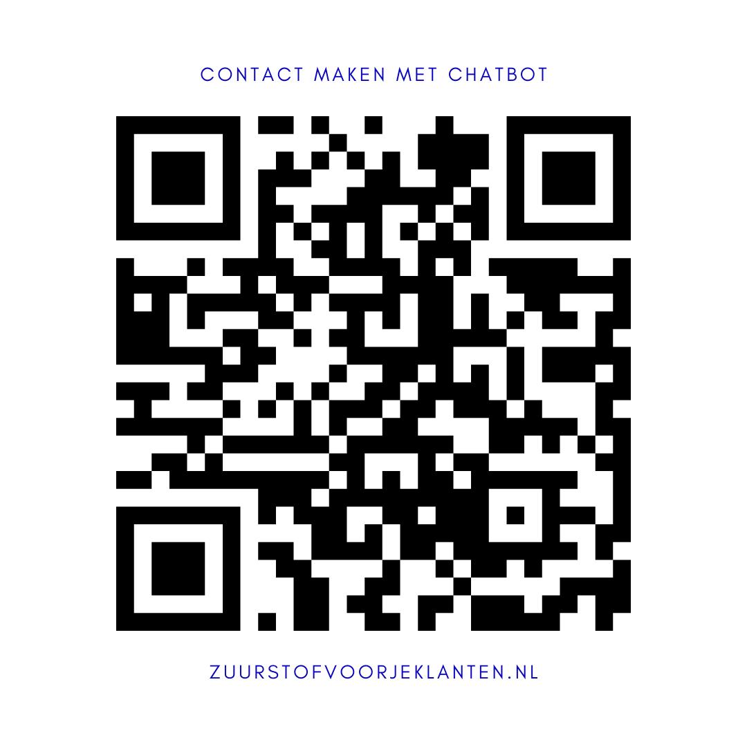 QR code Content Zuurstof voor je klanten