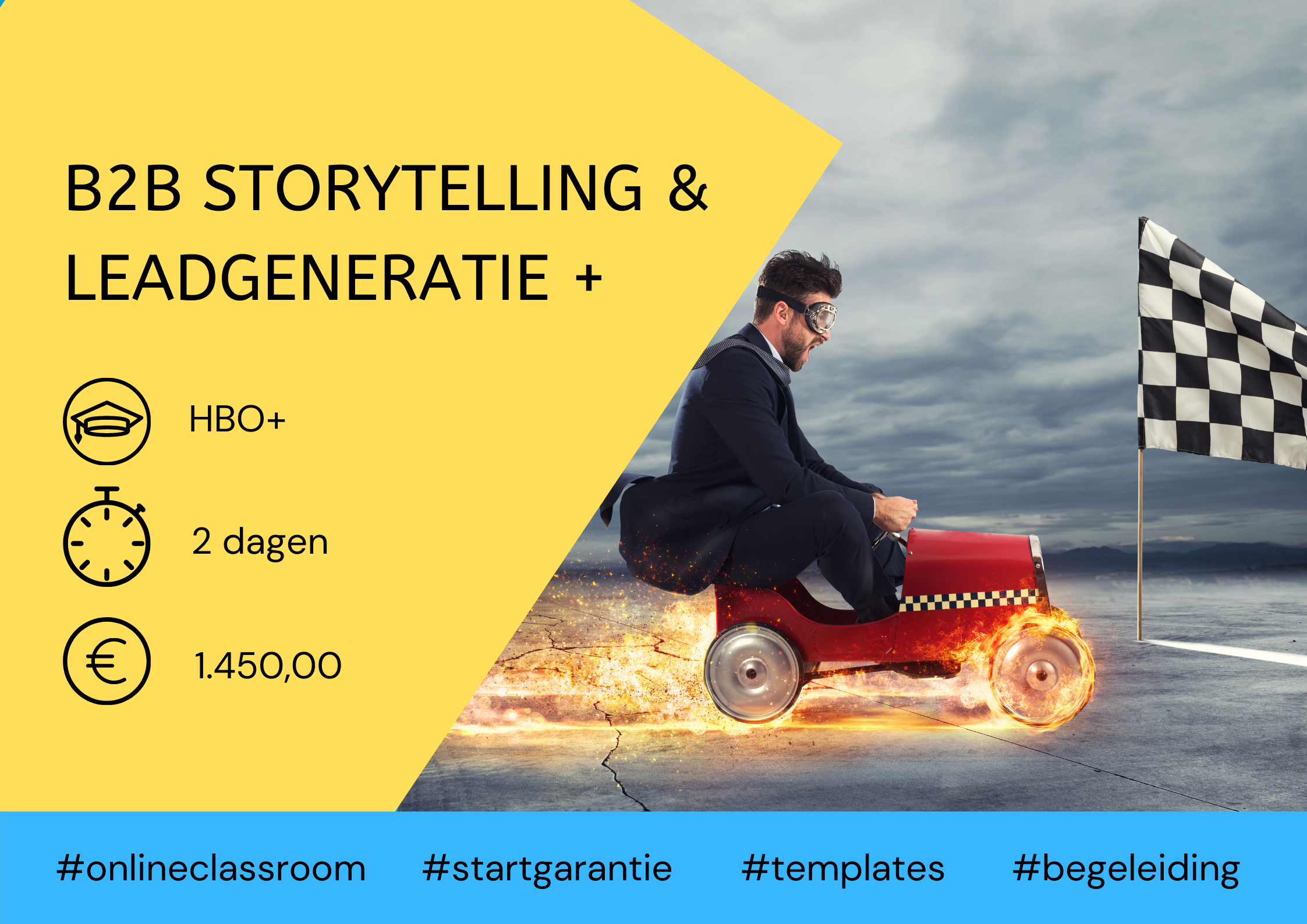Training B2B Storytelling & leadgeneratie 2 dagen