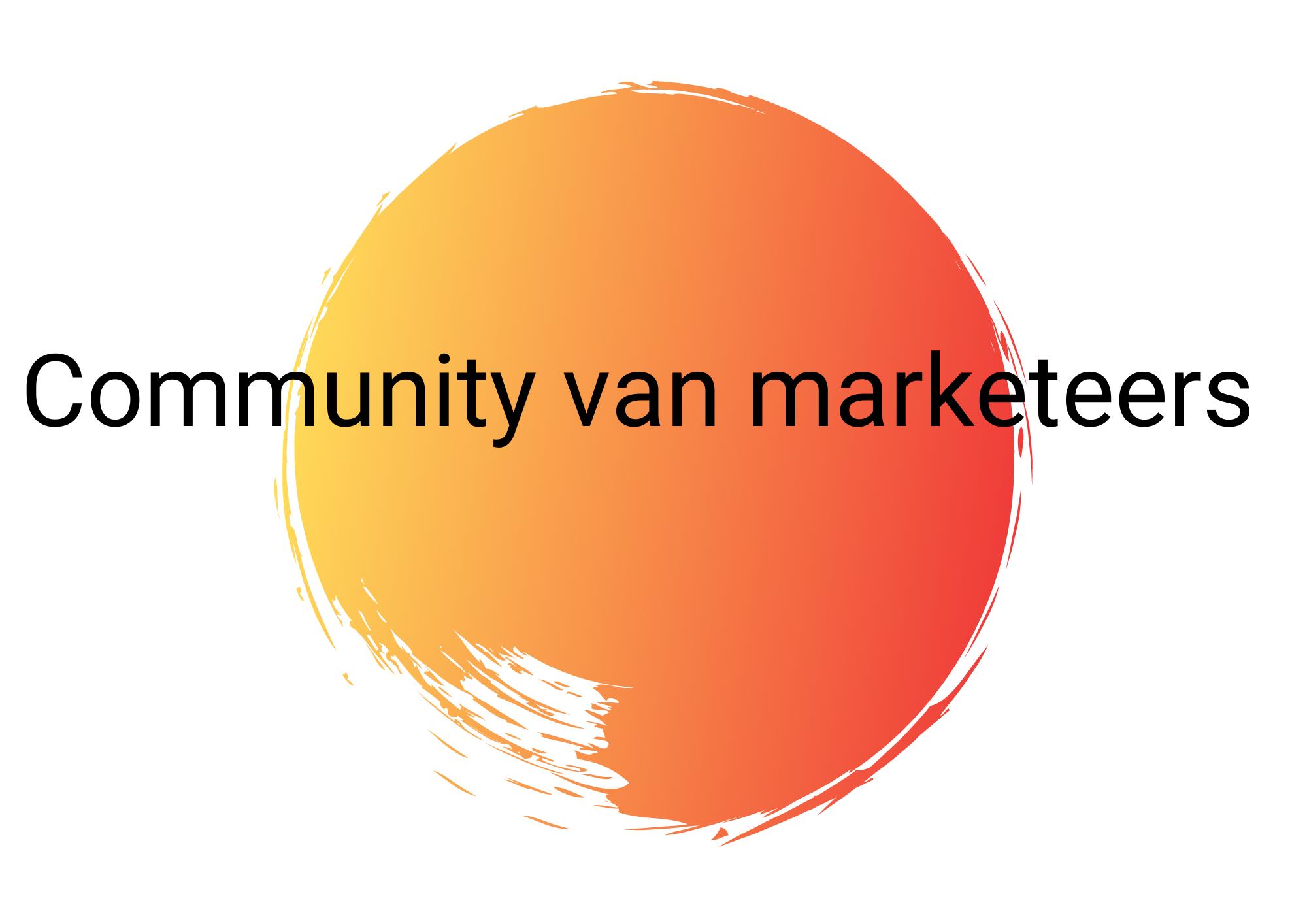 Hulplijn 4 community van marketeers