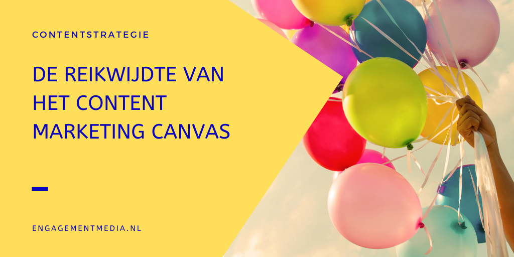 De reikwijdte van het Content Marketing Canvas vaststellen